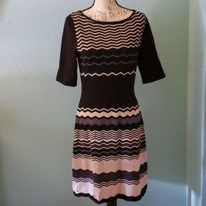 Jones Wear Zig Zag Dress
